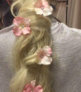 Kukkapinnit, vaaleanpunaiset